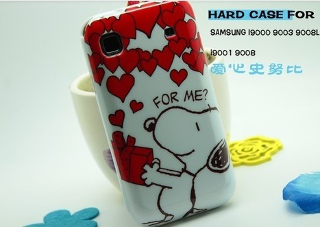 Snoopy hard case for Samsung S i9000 9003 i9001   Apple iPhone and iPad news   Scoop.it