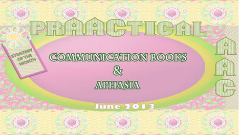 Communication Books & Aphasia | AAC: Augmentative and Alternative Communication | Scoop.it