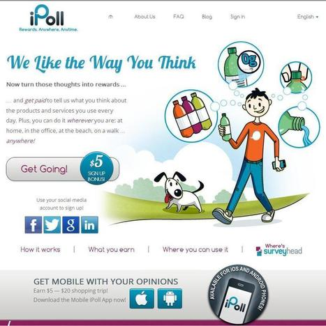 iPoll - Get Paid Surveys - Take Free Online Paid Surveys for Money | Internet Money | Scoop.it
