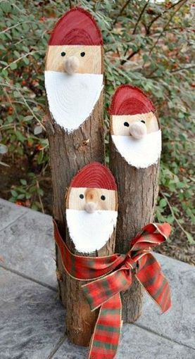 Danish Nisse Logs | Craftspo | Scoop.it