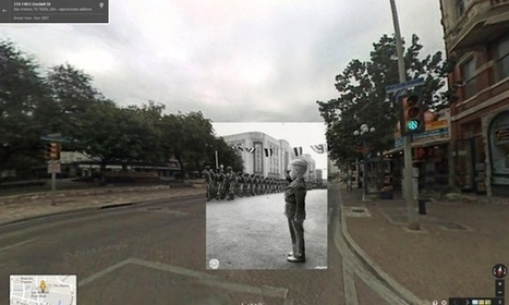 Second world war in Google Street View | History 2[+or less 3].0 | Scoop.it
