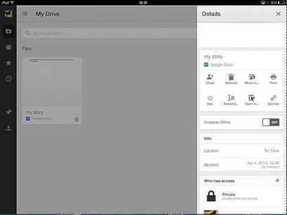 ▶ Getting Started With the Google Drive iPad App – YouTube | Elementary Technology Education | Scoop.it