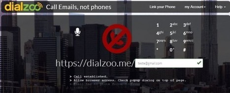 Dialzoo – Llamadas desde el navegador usando direcciones de email en lugar de números de teléfono | Apps Web PC | Scoop.it