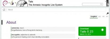 Tails, un sistema operativo anónimo recomendado por Edward Snowden   De redes sociales e informática en general   Scoop.it