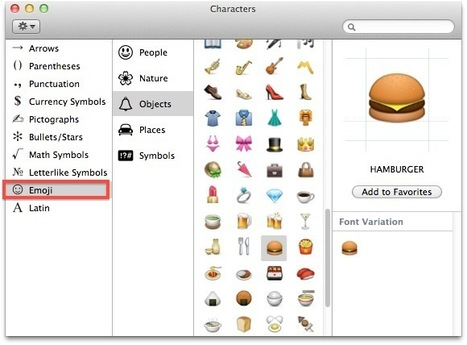 Access and Use Emoji in Mac OS X Lion   All Things Mac   Scoop.it