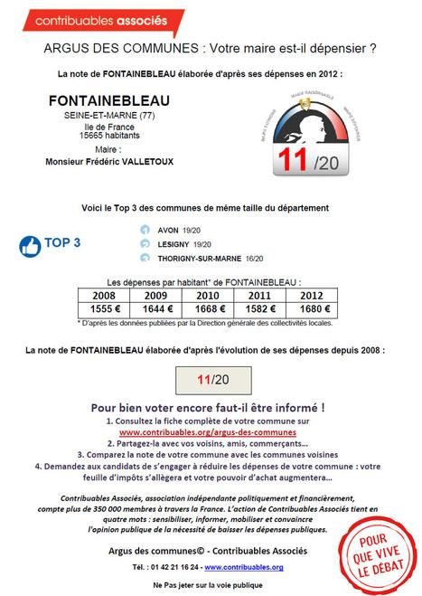 Monique Fournier: Le maire sortant jugé dépensier par l'argus des communes | Municipalités - Contribuables locaux | Scoop.it