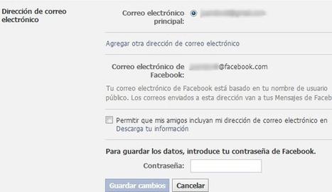 7 consejos para mantener segura tu cuenta de Facebook | ticprojec | Scoop.it