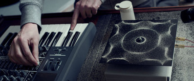 Nigel Stanford makes sound visible for Cymatics music video | What's new in Visual Communication? | Scoop.it