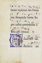 Initial C: Saint Nicholas (Getty Museum) | Contemplación | Scoop.it