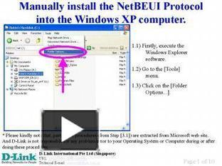 Manually install the NetBEUI Protocol into the Windows XP computer' | Protokoły sieci LAN | Scoop.it