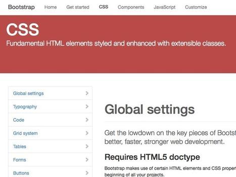 Aperçu de Bootstrap 3, réécrit pour être 'mobile first' | Responsive design & mobile first | Scoop.it