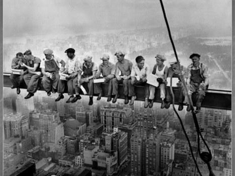 «Lunch Atop a Skyscraper»: l'une des photos les plus connues au monde était une publicité | Slate | Merveilles - Marvels | Scoop.it