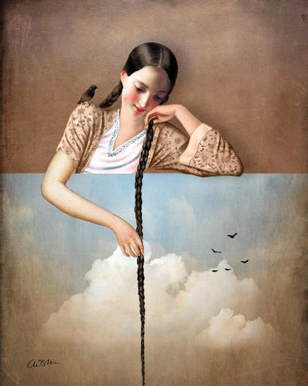 Cushion Spot: Magicial art prints by Catrin Welz-Stein | Designer Cushions | Scoop.it