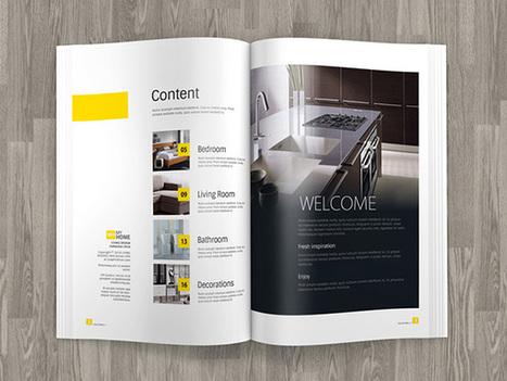 Best Free Magazine PSD Mockup Templates of 2015 | Designer's Resources | Scoop.it