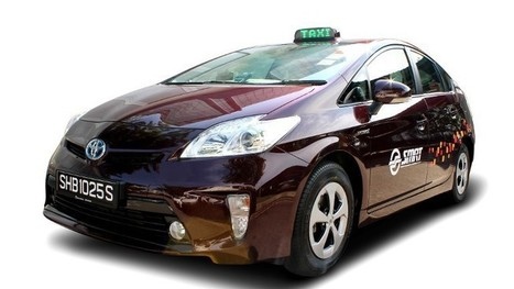 SMRT to introduce 600 environmentally-friendly Prius taxis | Trends in Singapore | Scoop.it