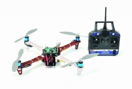 Let's Build an open source Quadcopter – Part2 | mobile & embedded engineering | Scoop.it