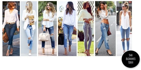 Fashion Round Up: White Shirt + Blue Jeans | FASHION | Scoop.it