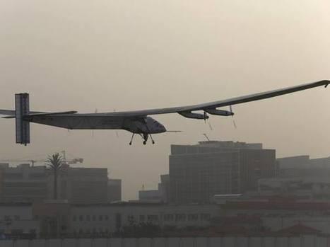 Partito il giro del mondo in aereo a energia solare - Corriere della Sera | scatol8® | Scoop.it