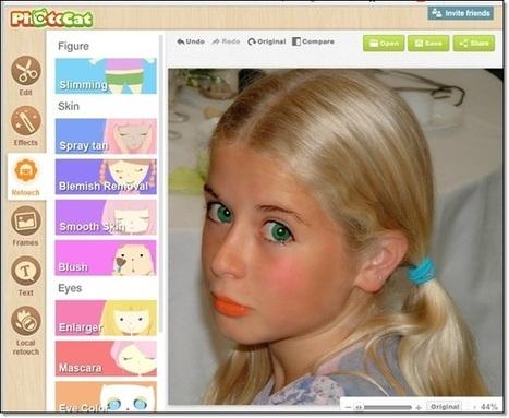 3 sites pour se maquiller virtuellement en ligne et plus. | Retouches et effets photos en ligne | Scoop.it