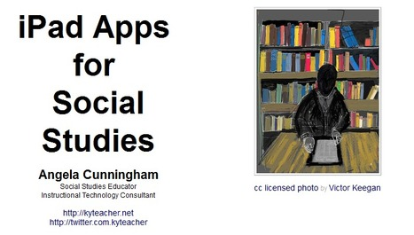iPad Apps for Social Studies - LiveBinder | Global Projects To Flatten Your Classroom | Scoop.it