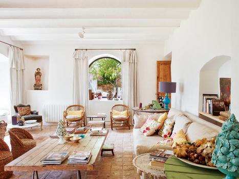 Une ferme pleine de couleurs en Espagne | PLANETE DECO a homes world | Décoration et Peinture | Scoop.it