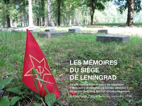 Les mémoires du siège de Leningrad | histoire | Scoop.it