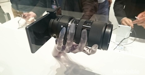 Sony Gives Lens-Style Cameras Another Go | Atif Unaldi's Daily Technology Topics | Scoop.it