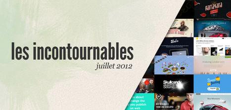 Les sites web incontournables (juillet 2012) | WebdesignerTrends - Ressources utiles pour le webdesign, actus du web, sélection de sites et de tutoriels | #websdesign inspiration | Scoop.it