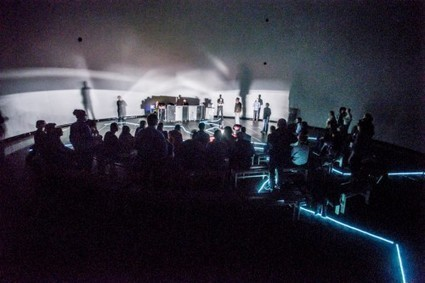 arslog - ENTROPIA : un pas dans la performance électronique immersive et l'architecture sonore en temps réel