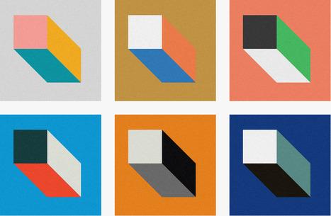 Swiss Style Color Picker | International Style Colors Sheme Palette | Web Design | Scoop.it