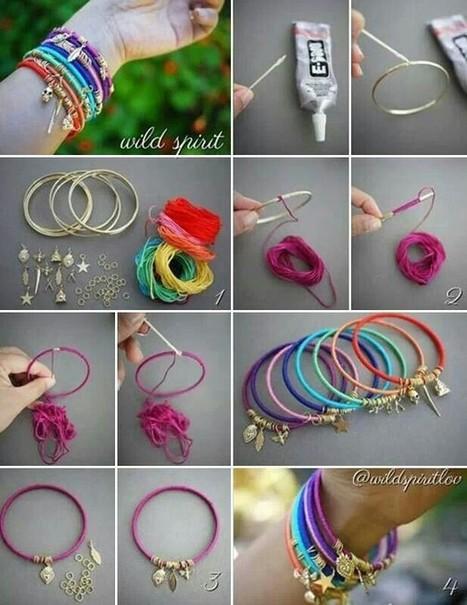 db77f6befda55096de09094bad5a40bd.jpg (617x800 pixels) | DIY bracelets | Scoop.it