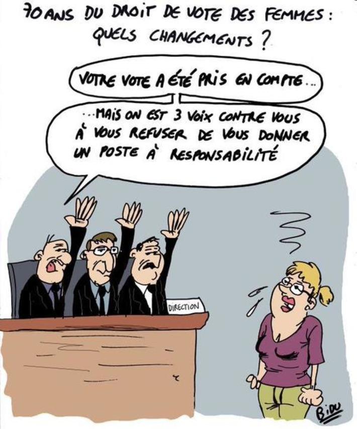 70 ans du droit de vote des femmes | Baie d'humour | Scoop.it