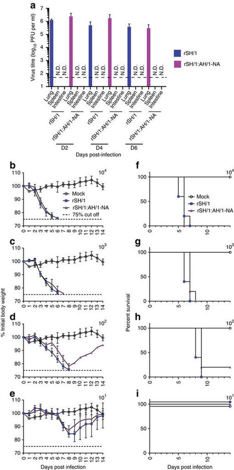 Influenza A(H7N9) virus gains neuraminidase inhibitor resistance without loss of in vivo virulence or transmissibility : Nature | Virology and Bioinformatics from Virology.ca | Scoop.it
