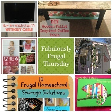Fabulously Frugal Thursday Linky Party #59 | A Life in Balance | Frugal and Thrifty | Scoop.it