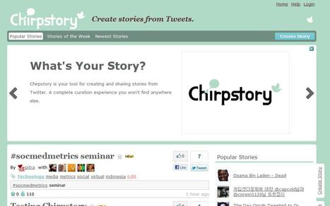 Chirpstory | Social media kitbag | Scoop.it