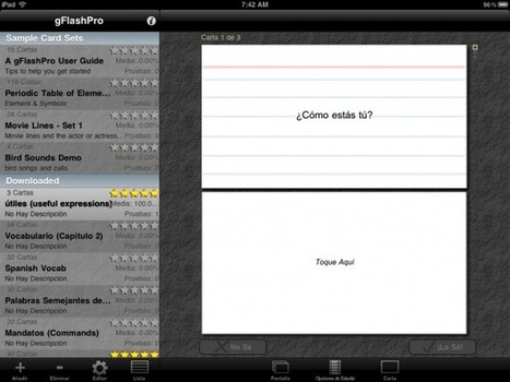 How to create and share digital flash cards on your iPhone and iPad [App for that] | iMore | World Languages | Scoop.it