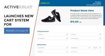ActiveRelay Launches New Checkout System That Easily Integrates With ActiveCampaign | Practical Guide To Business & Entrepreneurship | Scoop.it