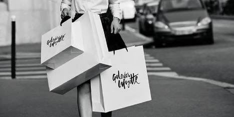 Les Galeries Lafayette mettent fin à la file d'attente en caisse | 694028 | Scoop.it