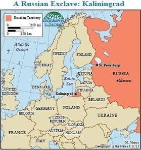 Geography in the News: Kaliningrad - National Geographic | AP Human Geography @ Hermitage High School - Ms. Anthony | Scoop.it