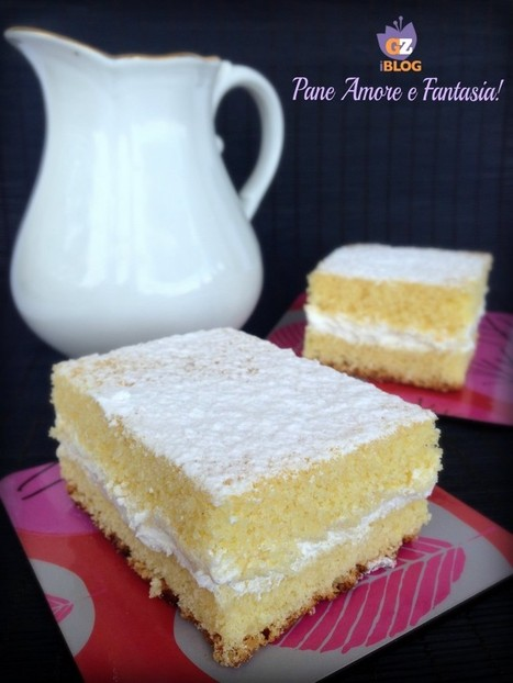 Torta Paradiso - ricetta simil Kinder | Pane Amore e Fantasia! | Cake Design | Scoop.it