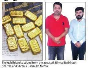 Two from Mumbai held with 1.5kg gold in Valsad | in-SURAT.info | Scoop.it