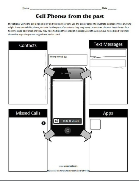 Worksheet Matching Cell Phone Texting : School library activities fun in the l