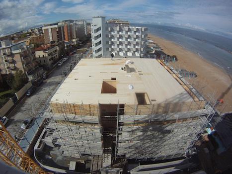 A Pesaro l'hotel in legno più alto d'Europa | Building with wood | Scoop.it
