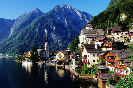 Austria: Small village nested in the mountains | Wicked! | Scoop.it