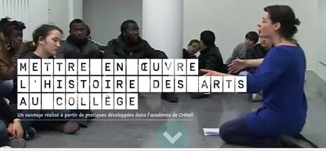 Mettre en œuvre l'histoire des arts au collège | Numérique-éducation-Geek | Scoop.it