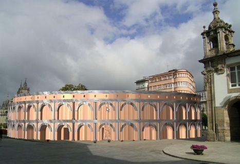 Las obras en la Praza Maior avivan el interés por encontrar el teatro romano | Romanización en España e Galicia | Scoop.it