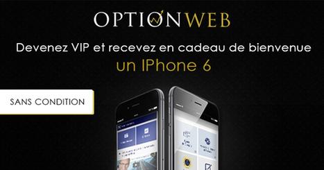 Un iPhone 6 offert chez OptionWeb pour l'inscription | Paris sportifs & bookmakers | Scoop.it