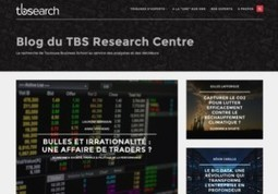 La Toulouse Business School TBS lance un revue scientifique sur internet | TBS Research Centre | Scoop.it