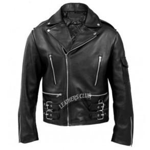 Terminator Black Leather Jacket - Mens Leather Jackets   Men's Leather Jackets   Scoop.it
