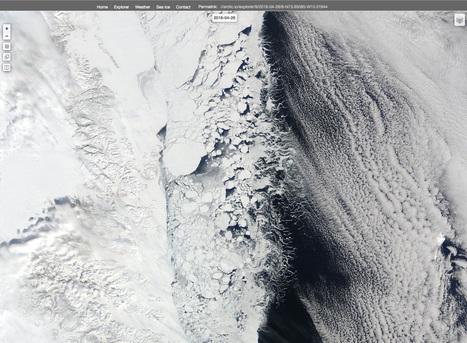 arctic.io - #Groenland nord-est : belle #banquise aujourd'hui | Hurtigruten Arctique Antarctique | Scoop.it